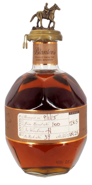 Blanton's  Whisky Strait from the Barrel